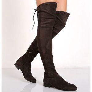 Dolce Vita Neely Over the Knee Boot Black 8